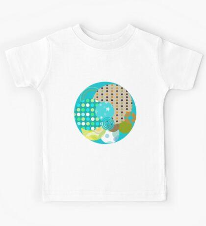 Beach Ball - Quasi-Quilt Kids Tee