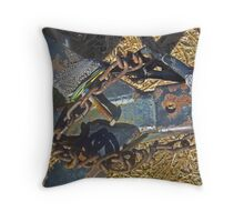 Rusting Away Throw Pillow