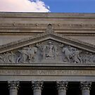 Archives of the U.S.A at Dusk by AmyRalston