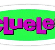 CLULESS Sticker