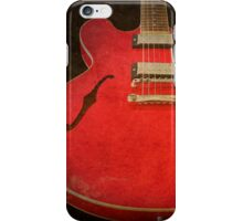 Gibson ES-335 Electric Guitar Body iPhone Case/Skin