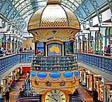 The Great Australian Clock at QVB - HDR by TonyCrehan