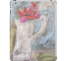 The dented old jug in a sunny spot iPad Case/Skin