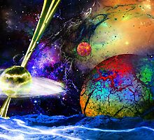 Proceed with Caution: Universe is Hazardous! by Nadya Johnson