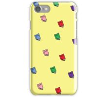 Colorful Books Pattern iPhone Case/Skin