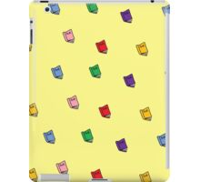 Colorful Books Pattern iPad Case/Skin
