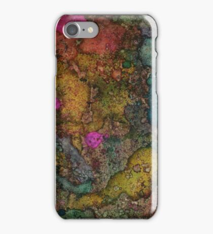 Glowing Forest Granite iPhone Case/Skin
