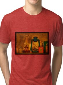 Bottles And Lamps Tri-blend T-Shirt