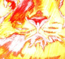 tiger t-shirt Sticker