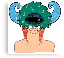 Monster Lady Ver.1 Canvas Print