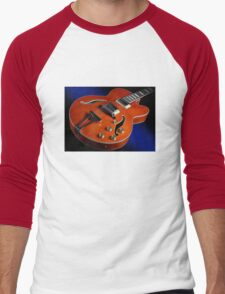 Ibanez AF75D Hollowbody Guitar In Transparent Orange Men's Baseball ¾ T-Shirt