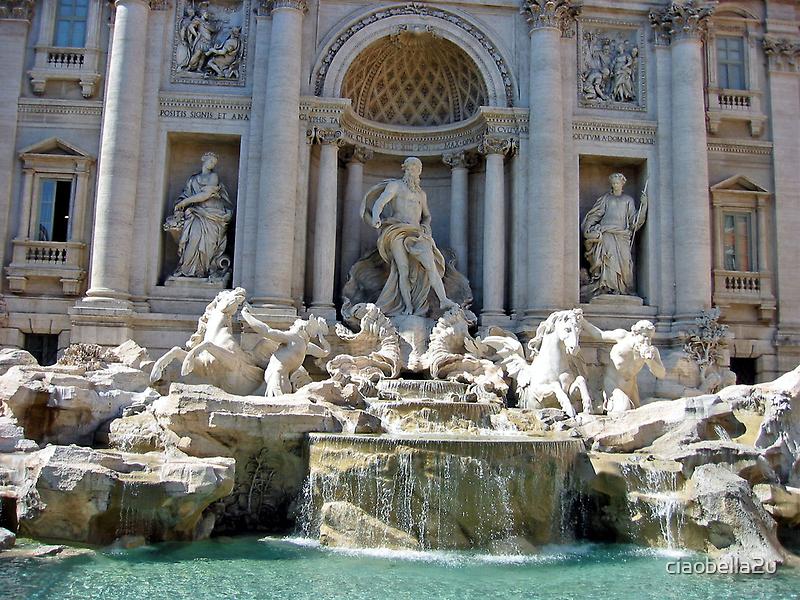 Trevi Fountain by ciaobella2u