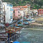 Fishing Village by ciaobella2u