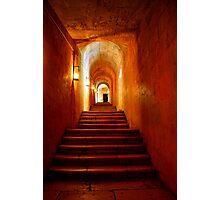 Secret passageway Photographic Print