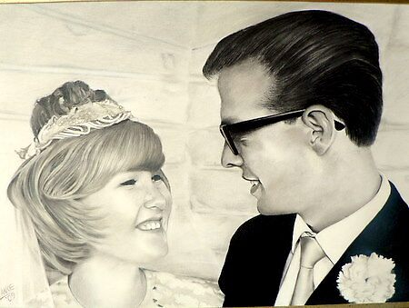 60's WEDDING by Lance Barnard