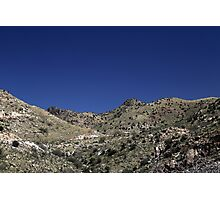 Saguaro National Park Landscape 3 Photographic Print
