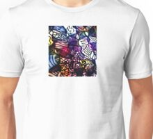 Stained Glass Muslin Unisex T-Shirt