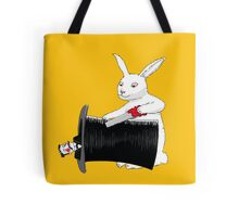 Rabbit vs. Magician Tote Bag