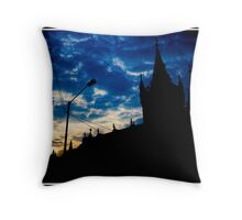 The Mount Mary Church Throw Pillow