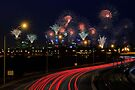 Australia Day Skyworks  by EOS20