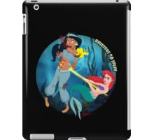 Ariel Kills Jasmine iPad Case/Skin
