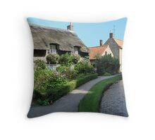 Thornton Le Dale, North Yorkshire Throw Pillow