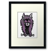 Wolf Woman Framed Print