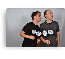 Chris and Nick Canvas Print