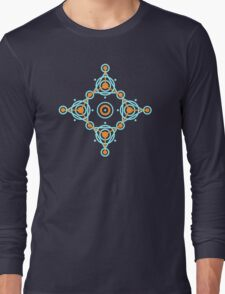 Geometric circle design Long Sleeve T-Shirt