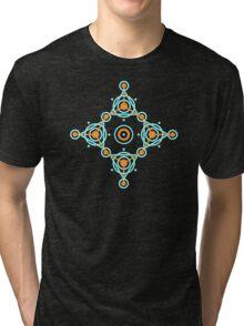 Geometric circle design Tri-blend T-Shirt