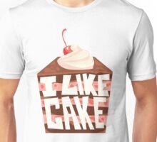 'I Like Chocolate Cake' Unisex T-Shirt