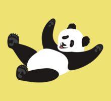 Happiness: Rolling Panda Kids Tee