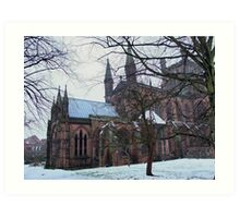 Chester Cathedral, UK Art Print