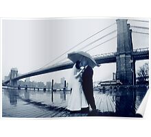 Brooklyn Bridge Wedding Bells Poster