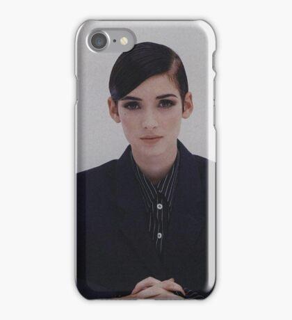 Winona Rider iPhone Case/Skin