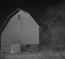 Barn in infrared by GPMPhotography
