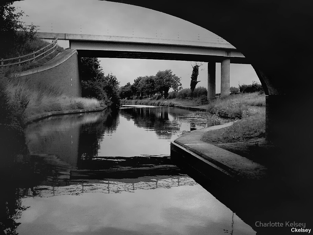 Old countryside canal by Charlotte Kelsey