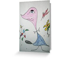 Hi Duck Greeting Card