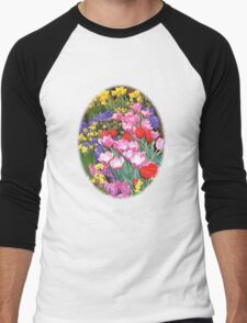 Happy Easter Spring Flowers Dark T-Shirt T-Shirt