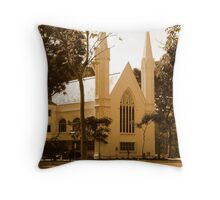 St Andrew's Cathedral, Singapore Throw Pillow