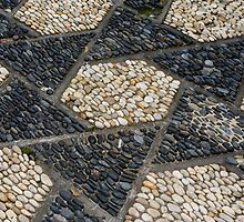 Pebble Paving in a Chinese Scholar's Garden by ElyseFradkin