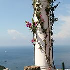 Column on Capri. by prestongeorge