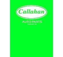 Callahan Auto Parts  Photographic Print