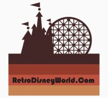 Retro Disney World Block Logo Kids Clothes