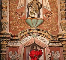 Interior San Xavier Mission 1 by marybedy