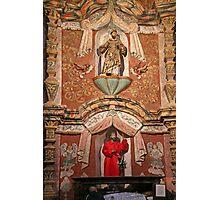 Interior San Xavier Mission 1 Photographic Print