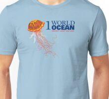 1 World Ocean - Black Sea Nettle Unisex T-Shirt