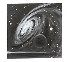 Cosmic Swirl and black dwarf Photographic Print