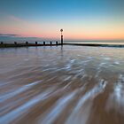 Pastel Evening - Bournemouth Beach by EwanHitchcoe