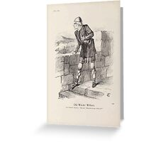 Cartoons by Sir John Tenniel selected from the pages of Punch 1901 0150 Old Warder William Greeting Card